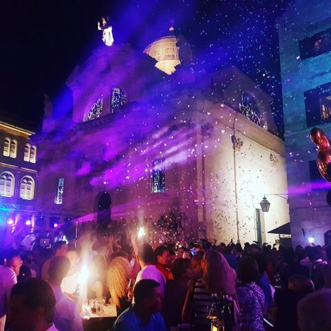 Cele Dubrovnik grand opening night home